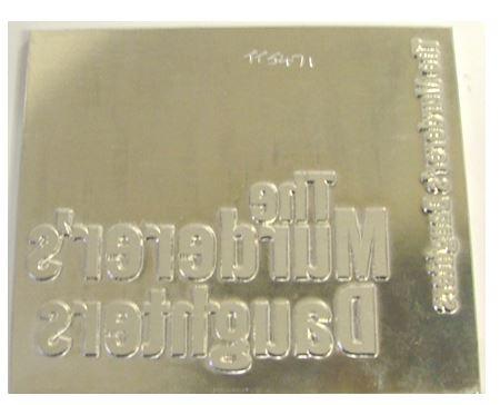 Foil Stamping Dies